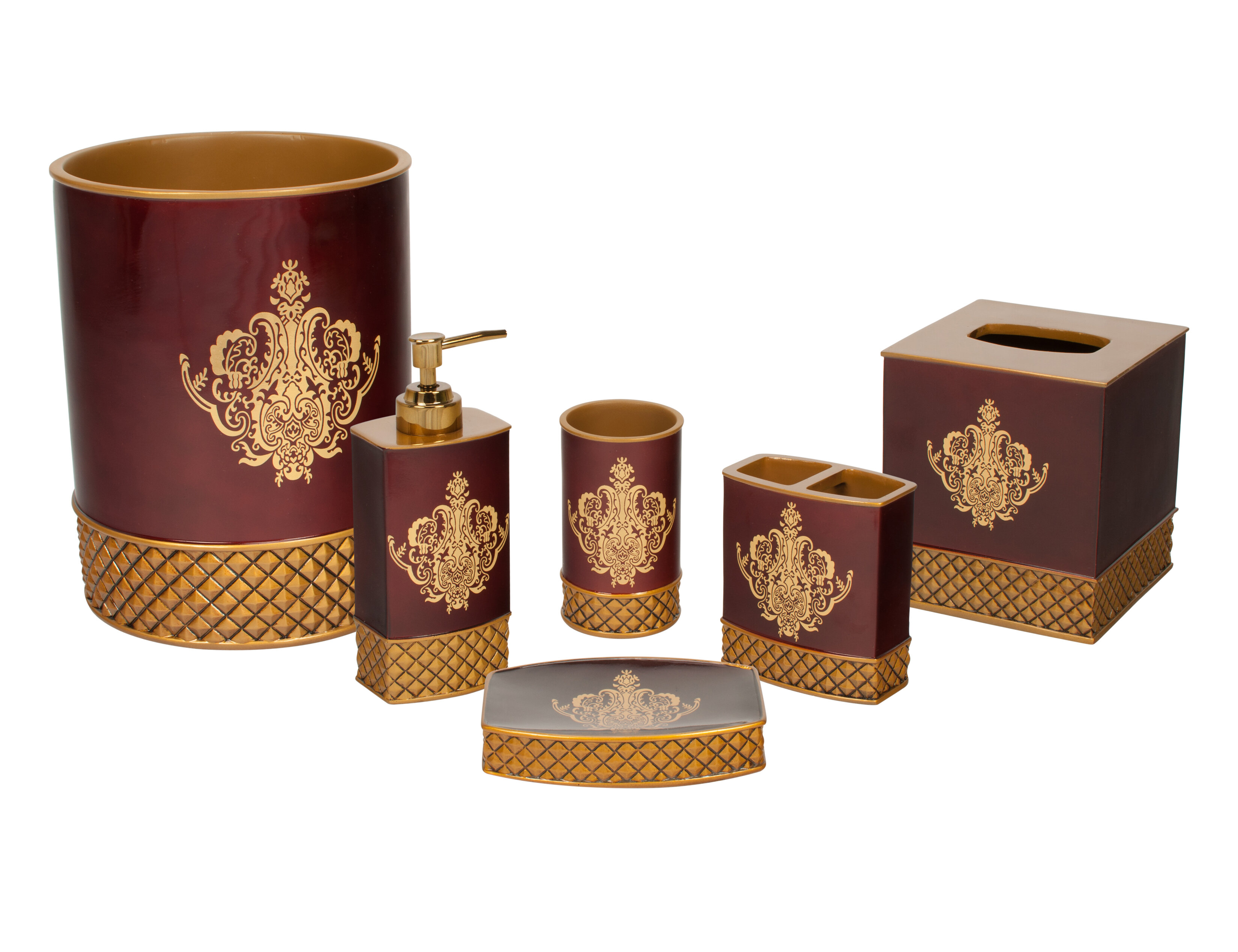 Kiara 5 Piece Bathroom Accessory Set