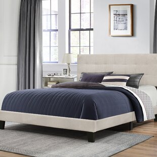 Cynthia Upholstered Panel Bed by Turn on the Brights