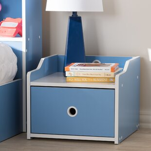 Kopf 1 Drawer Nightstand by Zoomie Kids