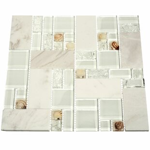 White marble tile flooring Black Venetian Random Sized Glass And Stone Mosaic Tile In White And White Marble How To Clean Marble Find The Perfect Marble Tile Wayfair