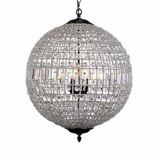 Astoria Grand Franz 5-Light Crystal Chandelier