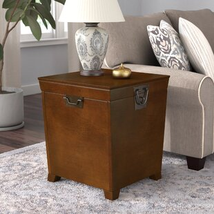 Boneta End Table With Storage Charlton Home Great price