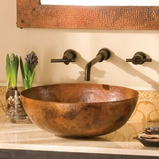 Native Trails, Inc. Maestro Metal Oval Vessel Bathroom Sink
