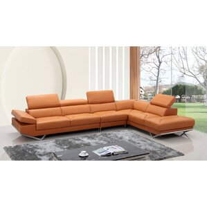 Corl Reclining Sectional by Orren Ellis