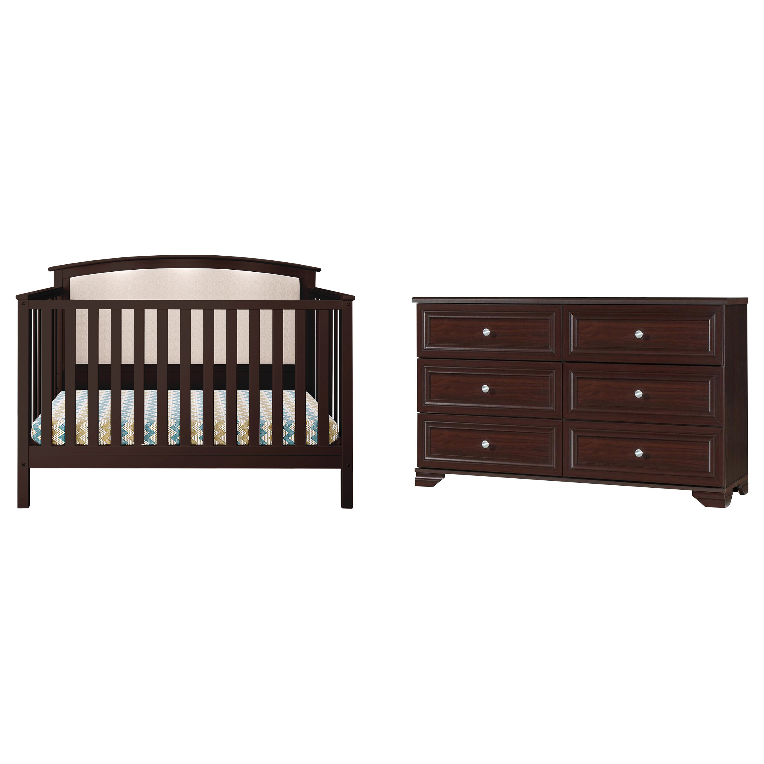 Three Posts™ Baby & Kids Esquina 4-in-1 Convertible Standard