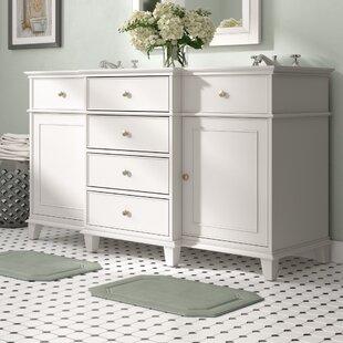 Deals Shrewsbury 60 Double Bathroom Vanity Base Only ByAndover Mills