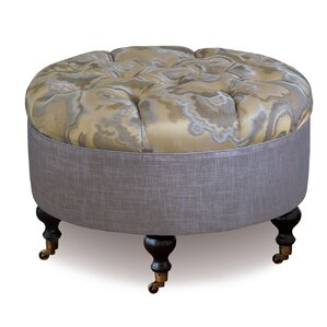 Amal Round Ottoman by Eastern Accents