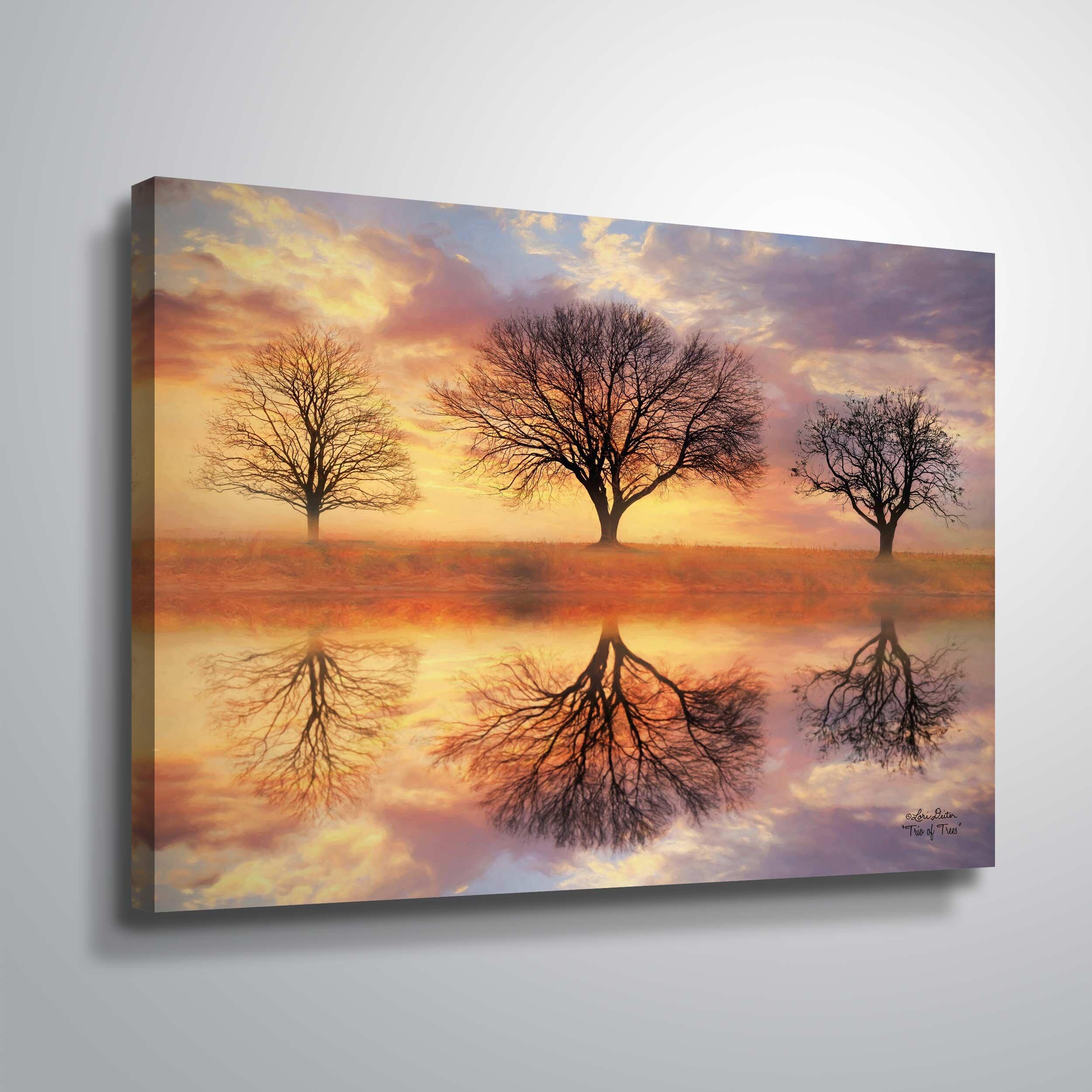 Modern Contemporary Trees Wall Art You Ll Love In 2021 Wayfair