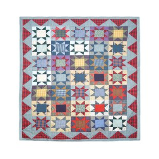 August Grove Damon Denim Burst Quilt