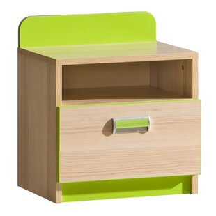 Talia 1 Drawer Bedside Table By Isabelle & Max