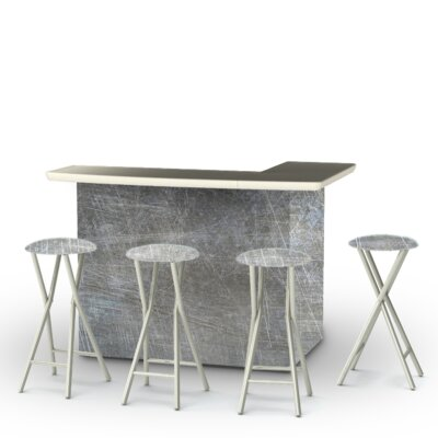Errol 5-Piece Bar Set by Latitude Run Best Design