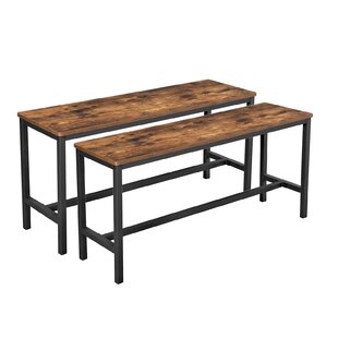 Folkston Wood Bench By Williston Forge