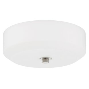 Sunset Lighting Quartz 3-Light Flush Mount