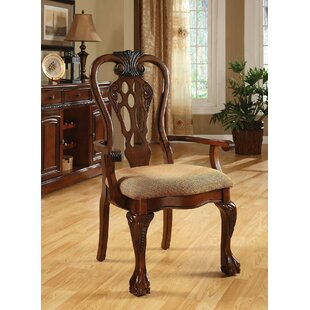 Sizemore Upholstered Dining Chair (Set of 2) Astoria Grand