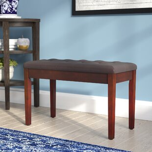 Charlton Home Criss Piano Upholstered Storage Bench