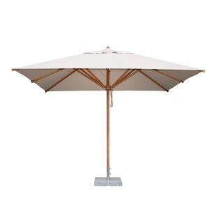 Yadira 3.5m X 2.5m Rectangular Traditional Parasol By Freeport Park
