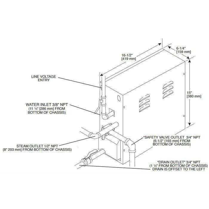 AX Series 14kW Steam Generator on standby generator wiring diagram, kohler steam generator parts, kohler steam generator installation, generator transfer switch wiring diagram, kohler steam generator manual,
