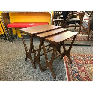 Price comparison Julius 3 Piece Nesting Tables ByLatitude Run