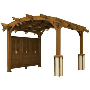 Sonoma 16 Ft. W x 16 Ft. D Solid Wood Pergola by The Outdoor GreatRoom Company