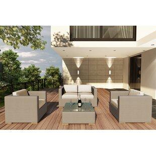 Related Post 4 Piece Teak Sofa Set with Sunbrella Cushions by Orren Ellis
