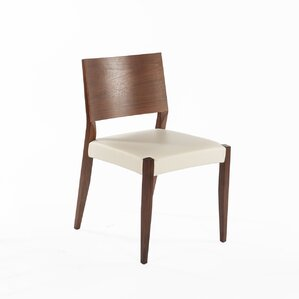 Risor Genuine Leather Upholstered Dining Chair by dCOR design