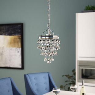 Devanna 1-Light Crystal Pendant by Willa Arlo Interiors