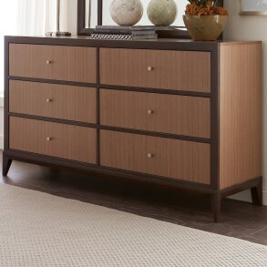 Coletta 6 Drawer Double Dresser