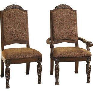 Astoria Grand Castlethorpe Upholstered Dining Chair (Set of 2)