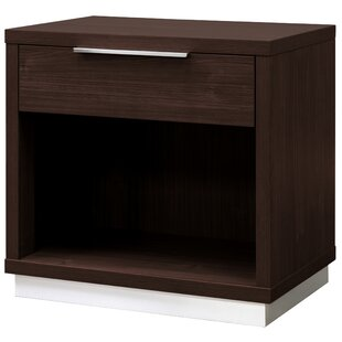 Shop For Reprise 1 Drawer Nightstand by Interia Hospitality
