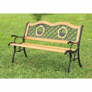 Beallsville Traditional Garden Bench by Astoria Grand Discount