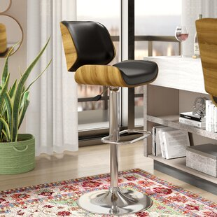 Sabella Adjustable Height Swivel Bar Stool