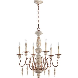 House of Hampton Loveland 6-Light Chandel..