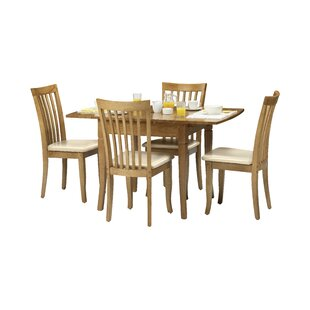 Rockland Dining Set With 4 Chairs By ClassicLiving