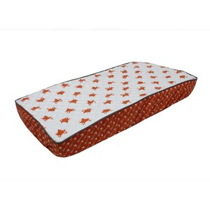 Balanchine Fox Quilted Changing Pad Cover