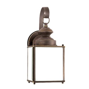 Burrows 1-Light Outdoor Wall Lantern