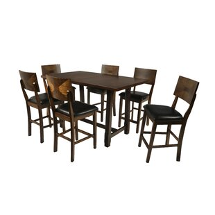 Lenka 7 Piece Counter Height Dining Set by Red Barrel Studio Best Design