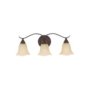 Affordable Dakota 3-Light Vanity Light By Charlton Home