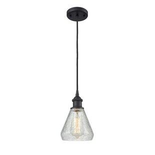 Flesher 1-Light Bell Penda..