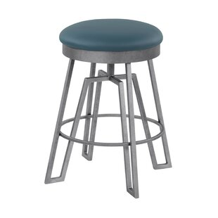 Dasilva Swivel Bar Stool by 17 Stories