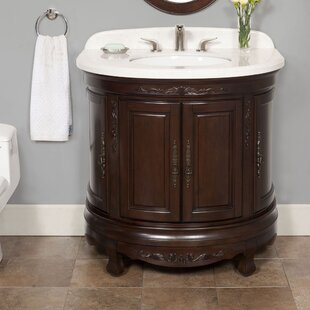 Reviews Moon 36 Single Bathroom Vanity Set By Lanza