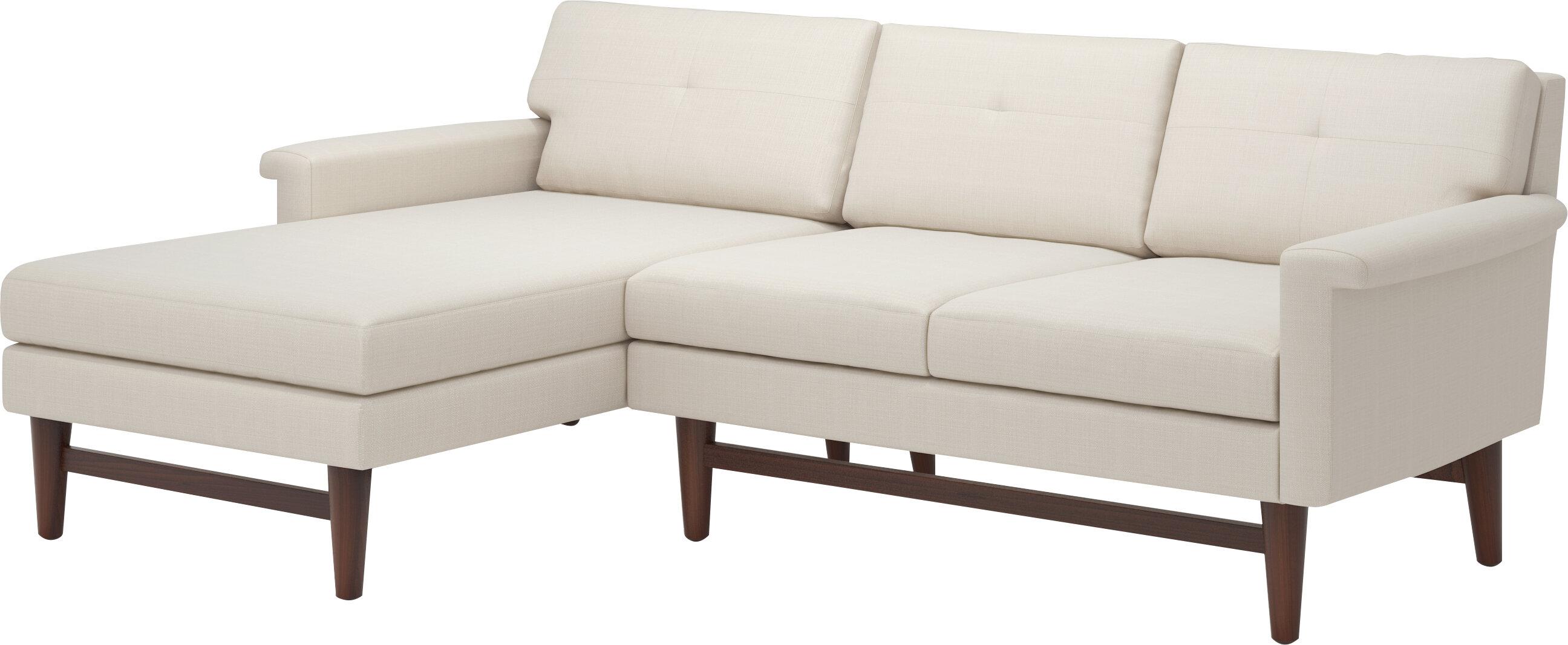 Prime Truemodern Diggity 90 Sofa With Chaise Wayfair Frankydiablos Diy Chair Ideas Frankydiabloscom