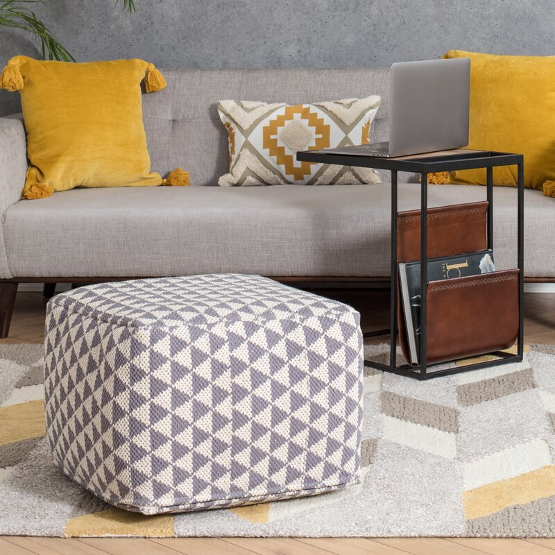 Wrought Studio Williamson Pouf Reviews Wayfair