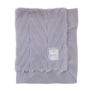 Inexpensive Cuddle Plush Blanket with 2 Border ByCuddle Me