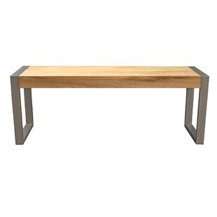 Hindman Wood Bench by Williston Forge