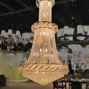 Rosdorf Park Tedder 51 Light Unique Tiered Chandelier Wayfair