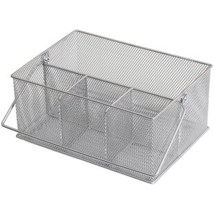 Mesh Condiment Caddy and Napkin Holder