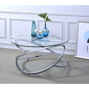Griffithville Coffee Table with Tray Top by Orren Ellis
