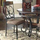 Garlington Metal Side Chair in Dark Brown (Set of 4) by Fleur De Lis Living