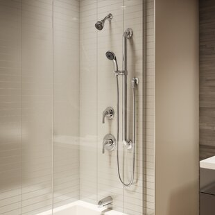 Symmons Origins Single Handle Tub and Shower Faucet with Stops