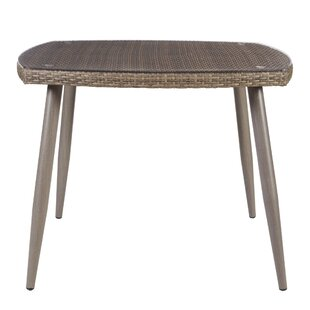 Gala Resin Wicker Dining Table by Highland Dunes Sale